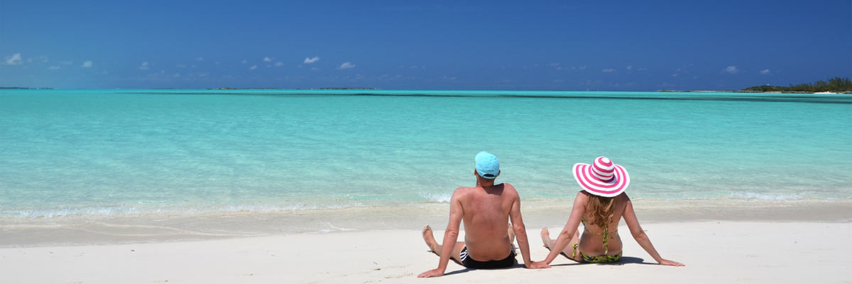 Beach life in the Bahamas